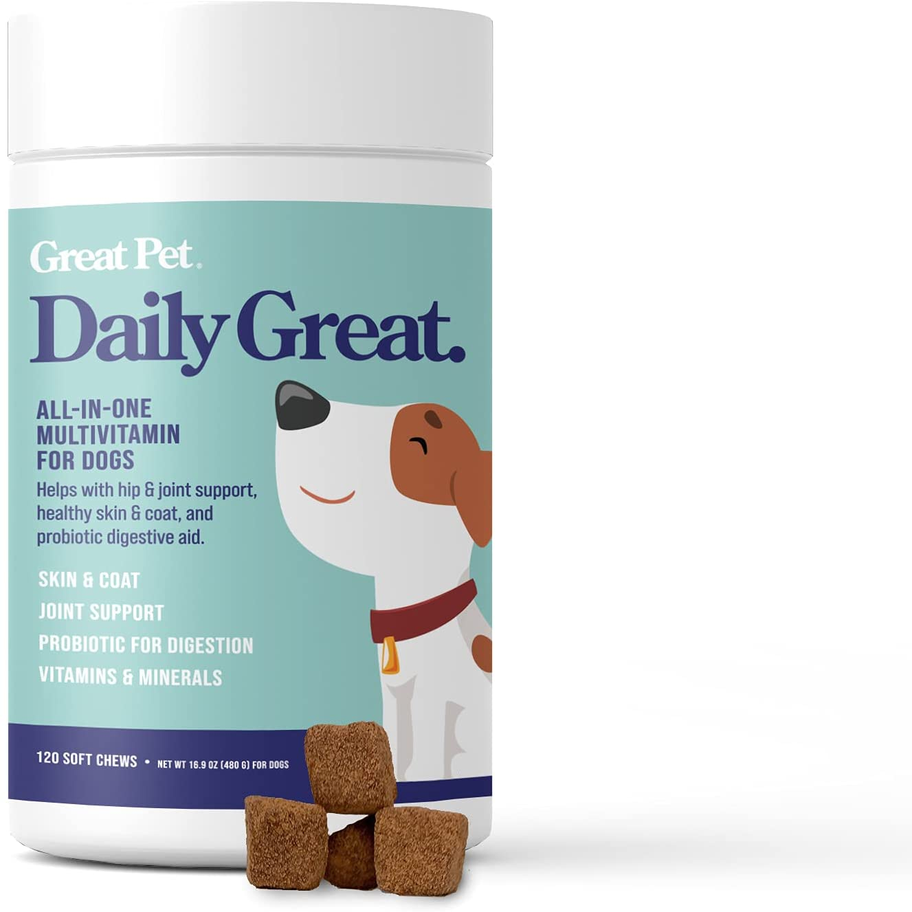 Daily Great Multivitamins for Dogs