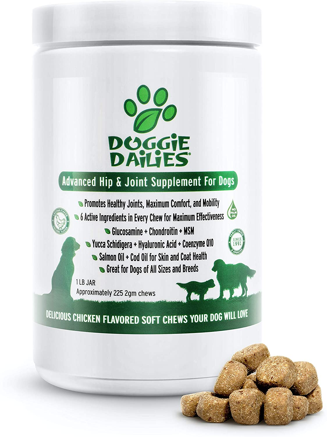 Doggie Dailies joint supplement for Dogs
